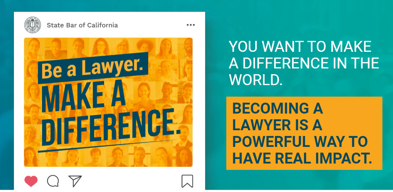 Be a Lawyer. Make a Difference