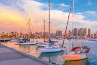 Sailboats in San Diego