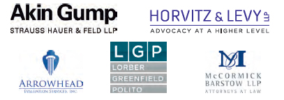 Akin Gump Strauss Hauer & Feld LLP, Horvitz & Levy LLP, Arrowhead Evaluation Services Inc., Lorber Greenfield Polity, McCormick Barstow LLP