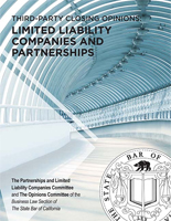 Third-Party Closing Opinions, Limited Liability Companies and Partnerships